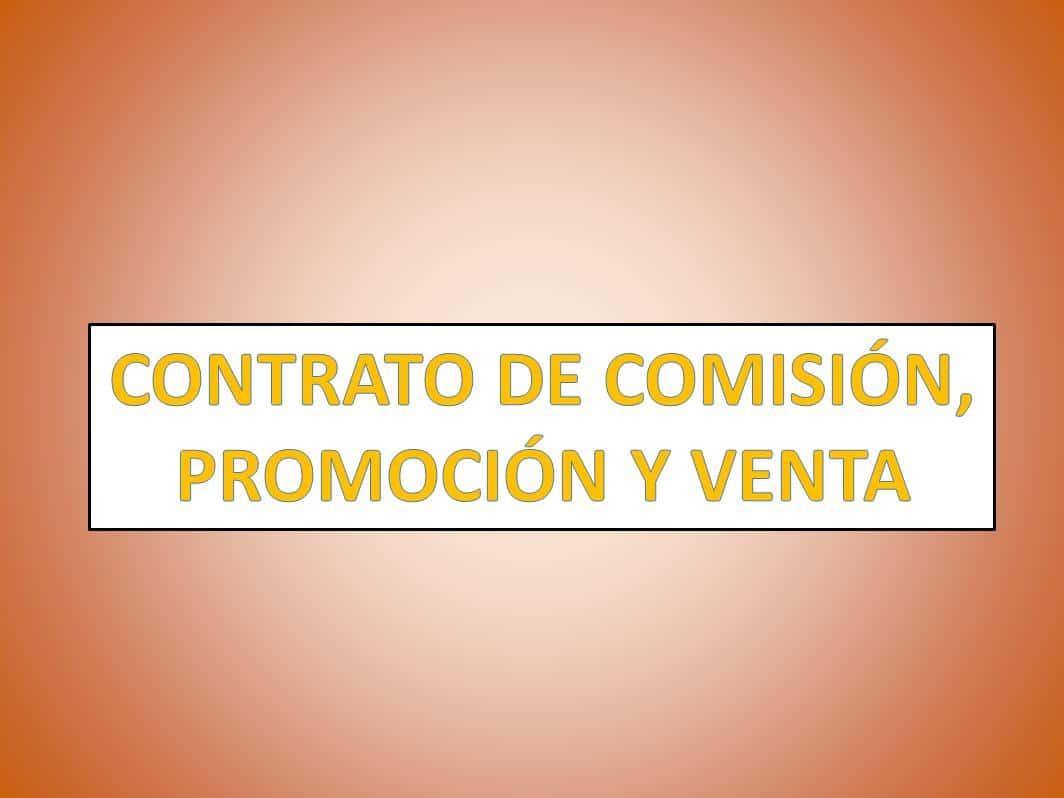 Contrato de comisi n promoci n y venta derechomexicano for Modelo contrato empleada de hogar 2015