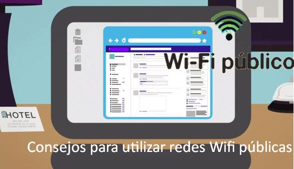 Consejos para utilizar redes Wifi públicas
