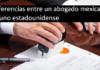 diferencias entre un abogado mexicano y uno estadounidense